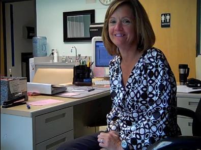 School nurse has personal connection to work