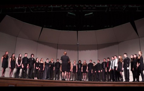 Wacapella concert ends sucessful year for music department