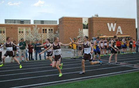 WA track wins against AB and Wayland