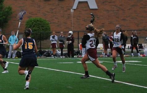 Girls' Lax wins 18-3