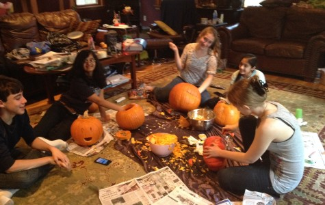 Pumpkin carving tricks
