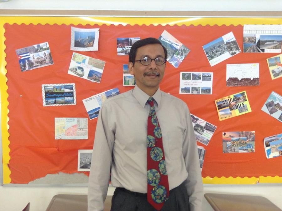 Salvadorian teaches at WA