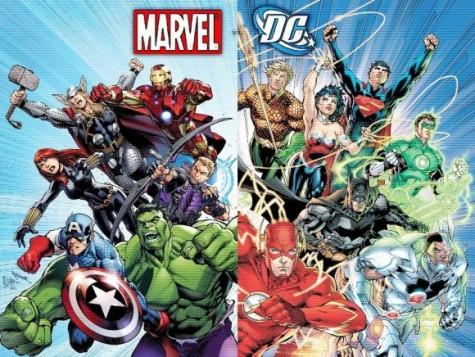 Marvel dominates over DC Comics