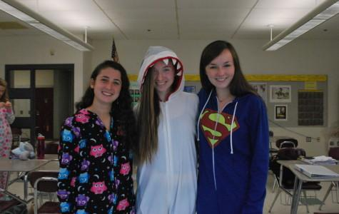 Photos: Pajama Day