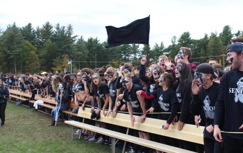 Seniors win spirit rally