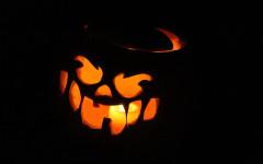Photos: Annual Halloween pumpkin carvings at Drew Farms