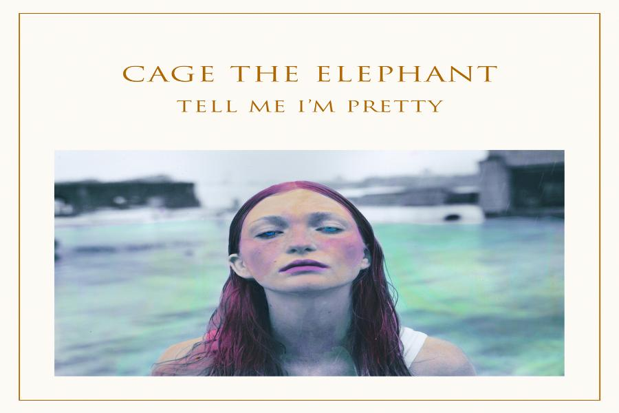The cover of Cage the Elephant's newest album.