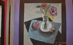 Foundations of Art class showcases student creations