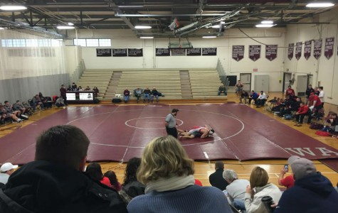 Boys' Varsity Wrestling beats Tewksbury