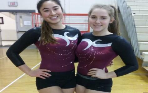 Westford Academy Gymnastics win last meet of the season