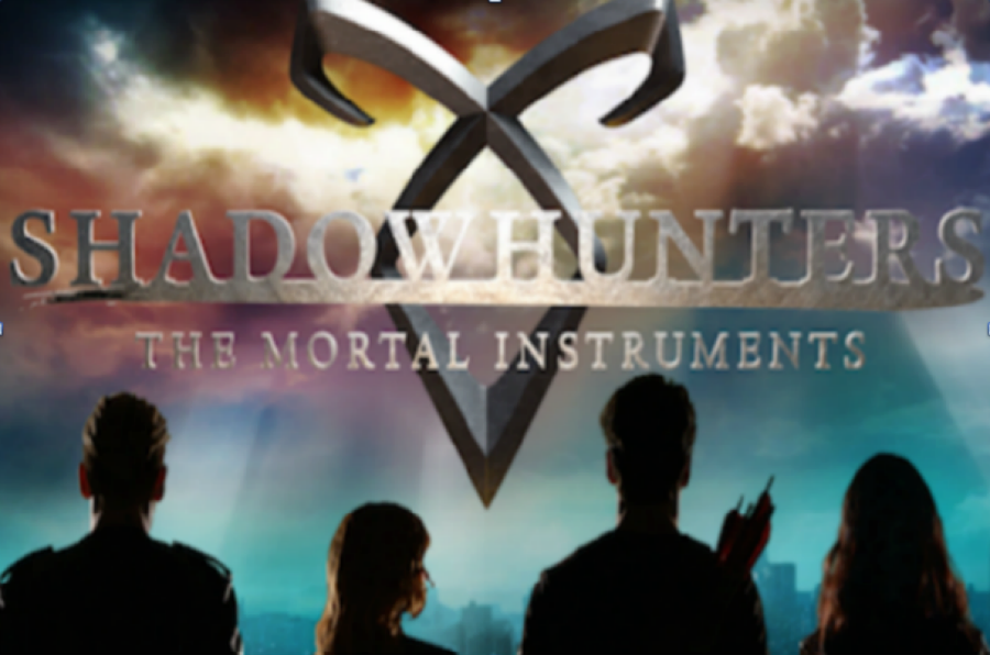A poster of the Shadowhunters TV series, taken from creative commons search.