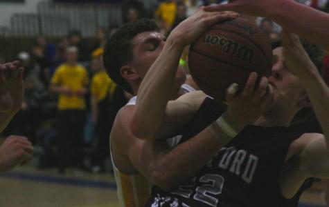 WA Boys' Varsity Basketball loses to Acton-Boxborough
