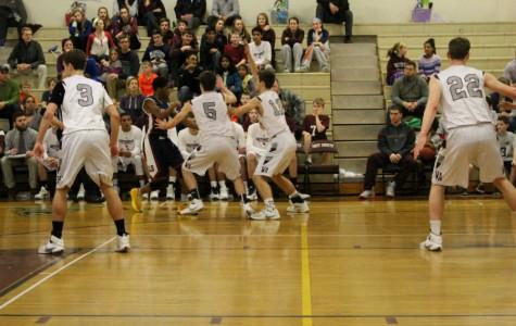 Boy's Basketball defeats Lincoln-Sudbury on Senior Night