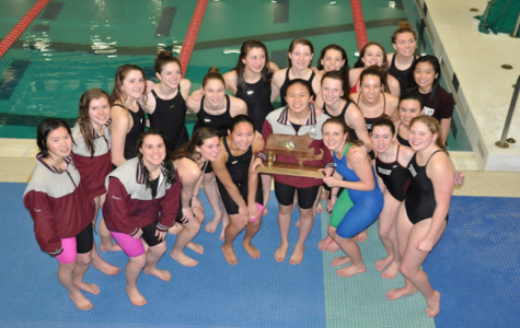 Girls' Swimming and Diving becomes State Champions