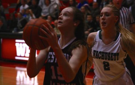Girls' Basketball falls to Wachusett 45-38