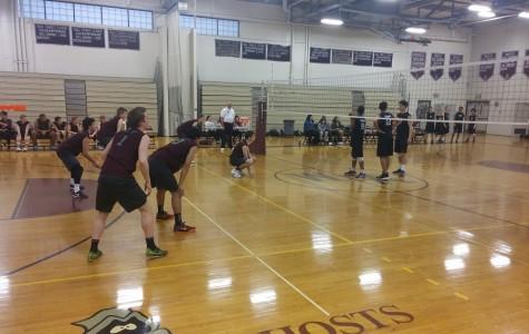Boys' Volleyball falls short of Cambridge R&L