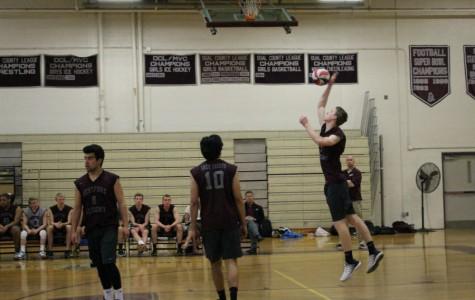 Boys' Volleyball wins against Lexington