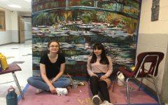 Senior Artists Replicate Monet's Work