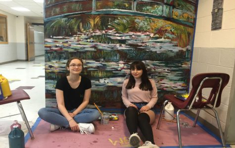 Senior Artists Replicate Monet's Work