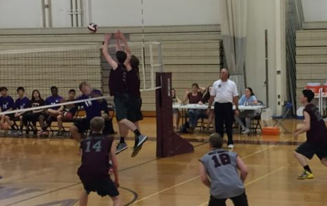 Boy's Volleyball wins on senior night