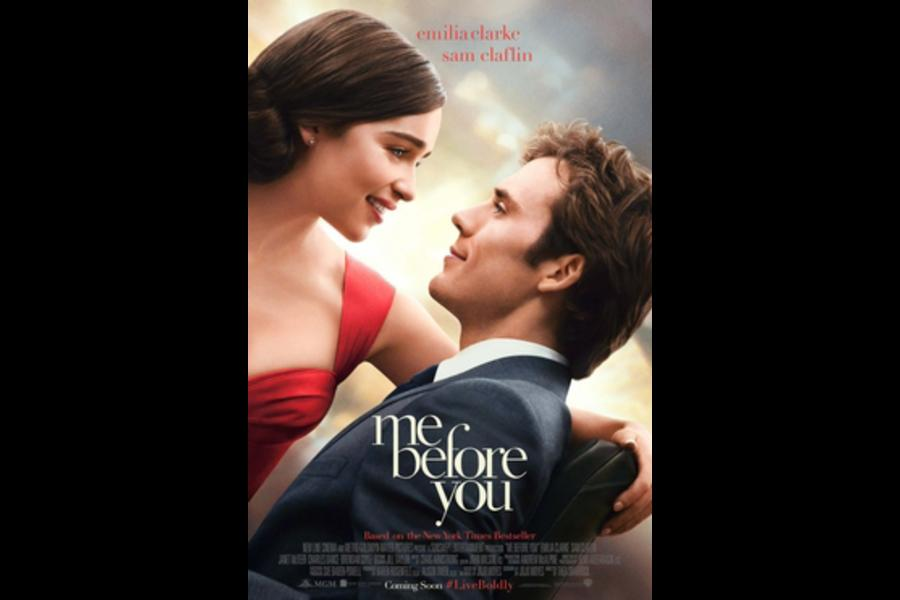 The movie poster for Me Before You.