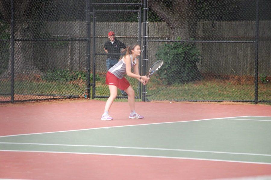 Photos: WA Girls' Tennis loses vs. Wellesley