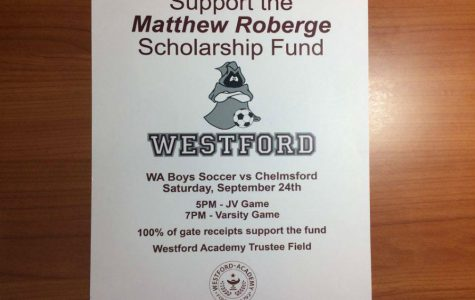 Soccer games to support Roberge scholarship fund