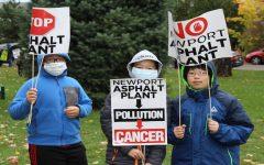 Photos: No Asphalt protest