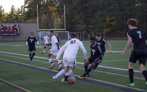 Boys' Soccer prevails against Cambridge 3-0