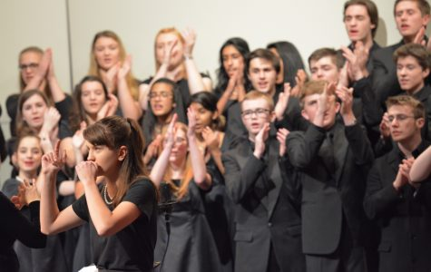 Photos: Band and chorus shine at winter concert