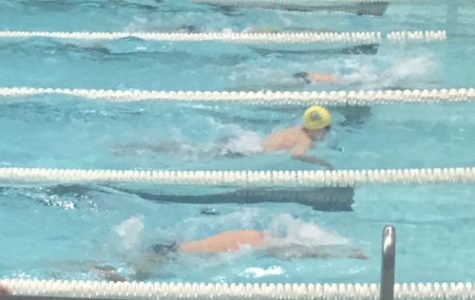 Boy's Swimming Loses to Acton- Boxborough 99-87