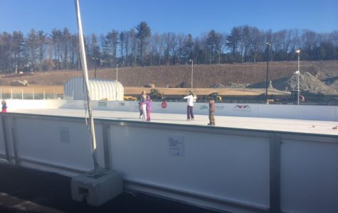 Winter Ice skates into Littleton