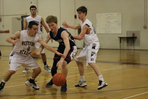 Boy's Basketball loses to Lincoln-Sudbury 44-57
