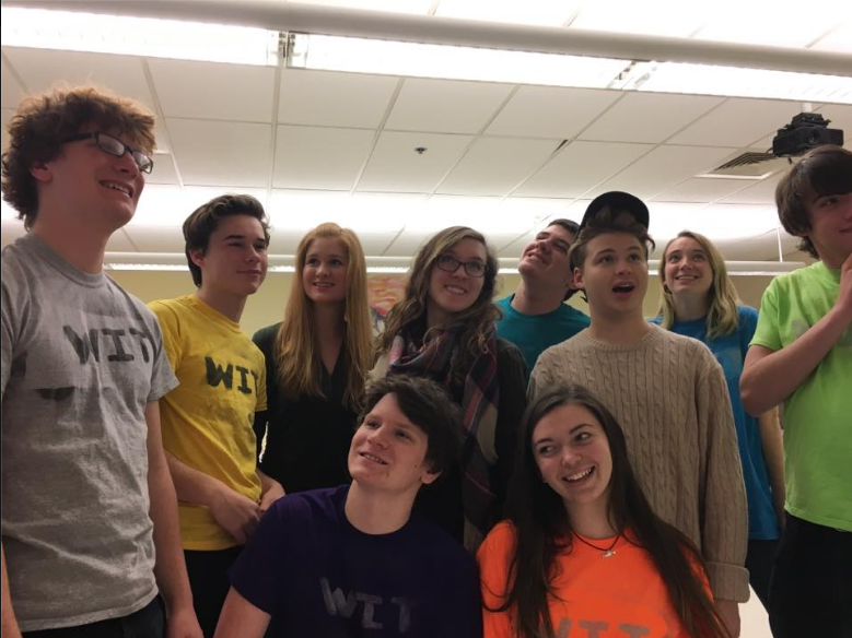 The members of the Westford Improv Troop.