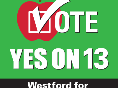 Preserve Westford Schools: Vote Yes on Prop 2 1/2