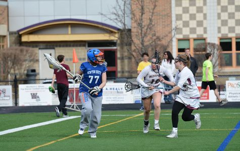 WA Girls' Lacrosse Defeats Newton South