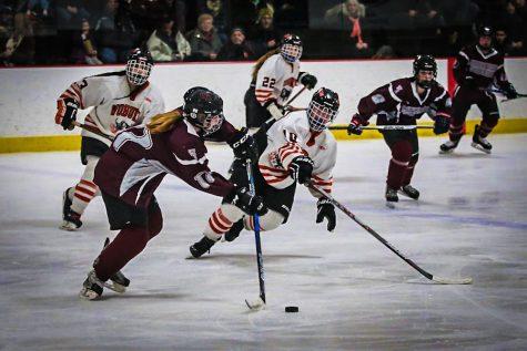WA Girls' Hockey ends season with a 4-1 loss