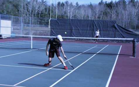 Boy's Varsity Tennis Wins First Game Against Chelmsford