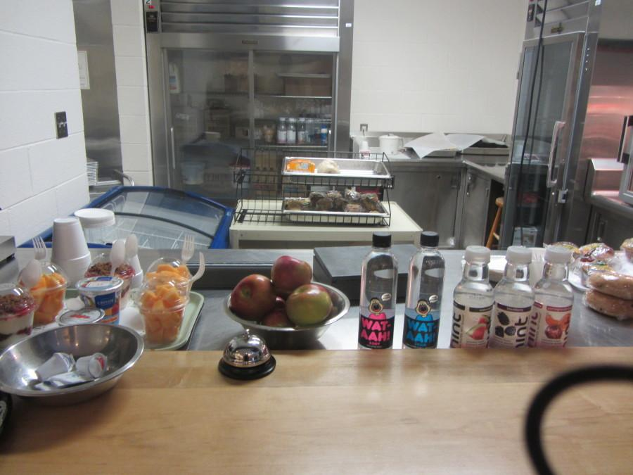 The new, healthier snack bar