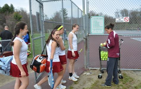 Photos: WA Girls' tennis crushes LS