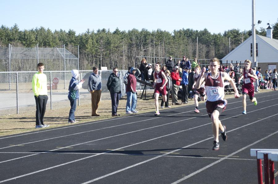 Runners at the meet