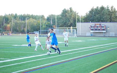 Varsity boys' soccer shuts out Bedford