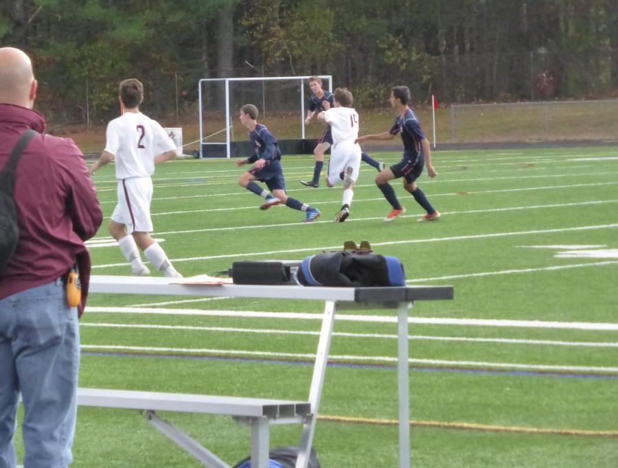 Boys' Varsity Soccer Match Ends in Deadlock