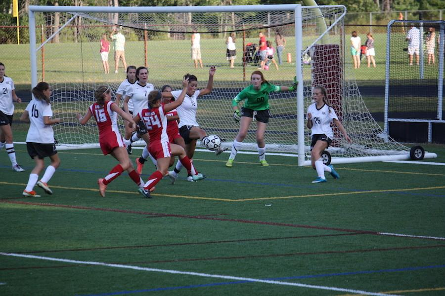 Girls Soccer dominates Waltham