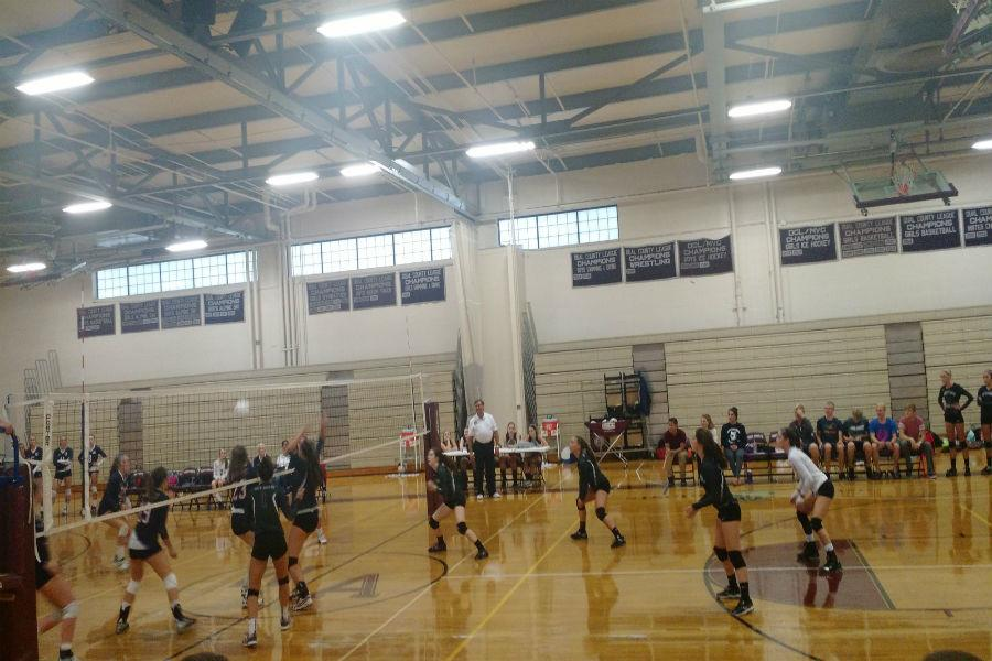 Girls Volleyball defeated by Lincoln Sudbury