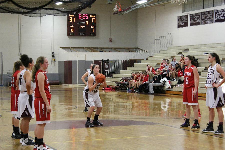 Girls Basketball defeats Waltham 53-33