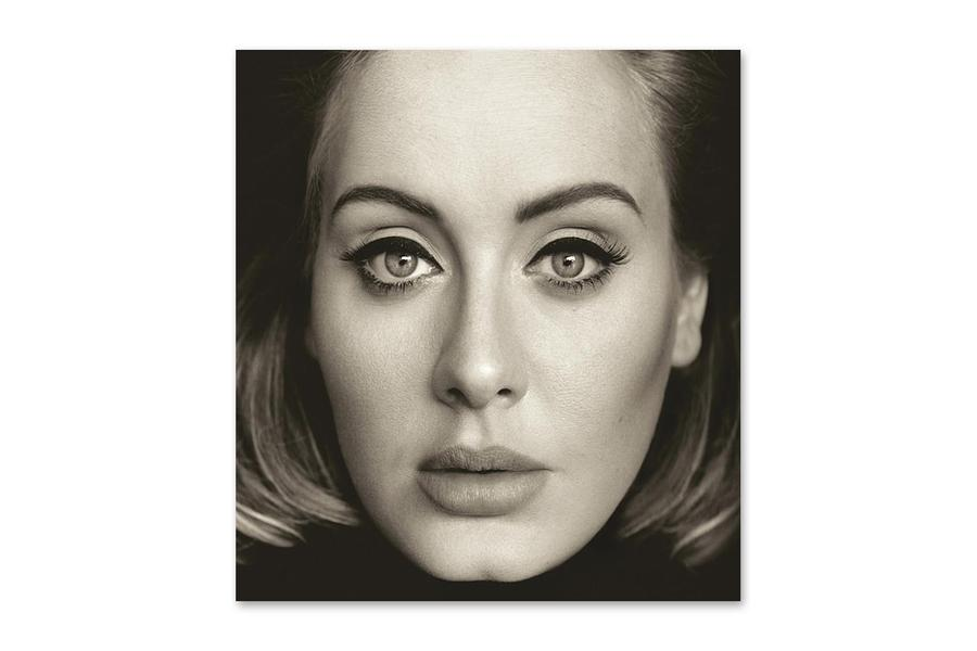 The Album cover for Adele's new album 25.