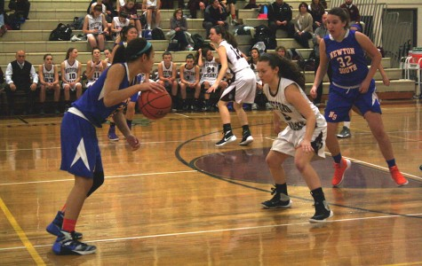 Girls' Basketball defeated by Newton South