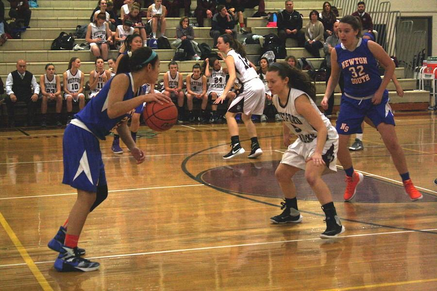 Girls Basketball defeated by Newton South