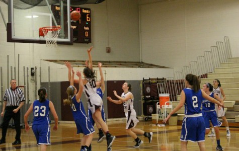 WA Girls' Basketball wins against Bedford despite nearly losing lead